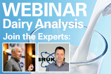 Free Webinar - Quality control of milk and dairy products at the speed of light
